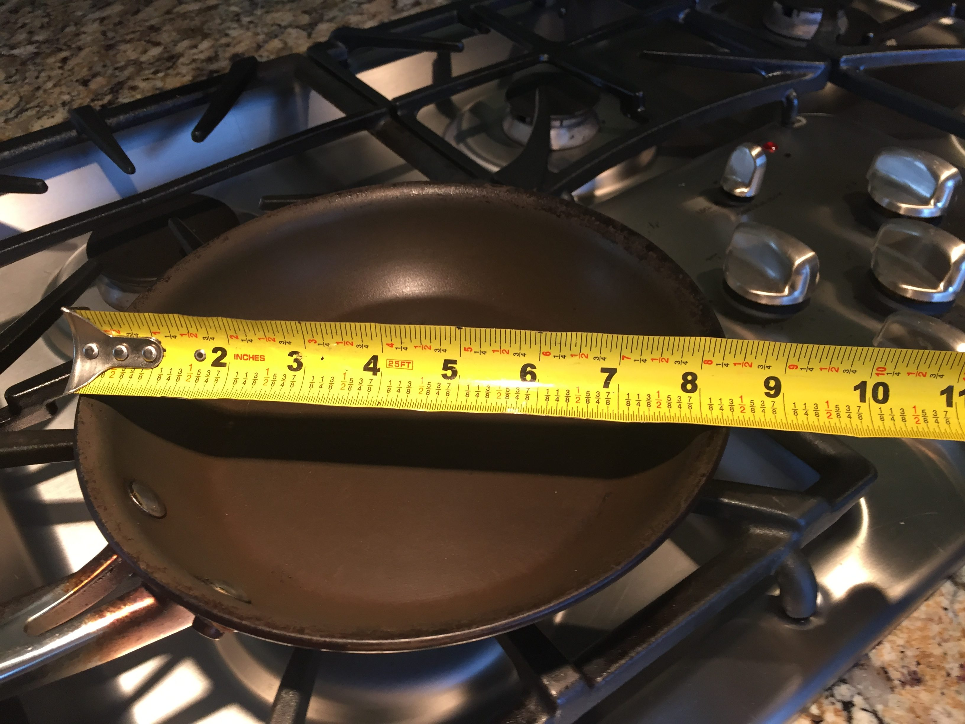 How Big is Your Frying Pan?