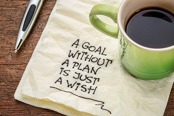 A Goal Without A Plan Is Just A Wish | Six Steps To Setting Your Goals